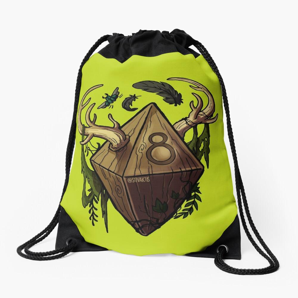 D&D Dice - Druid Drawstring Bag