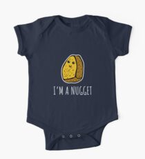 I'm A Nugget - Chicken Nuggets One Piece - Short Sleeve