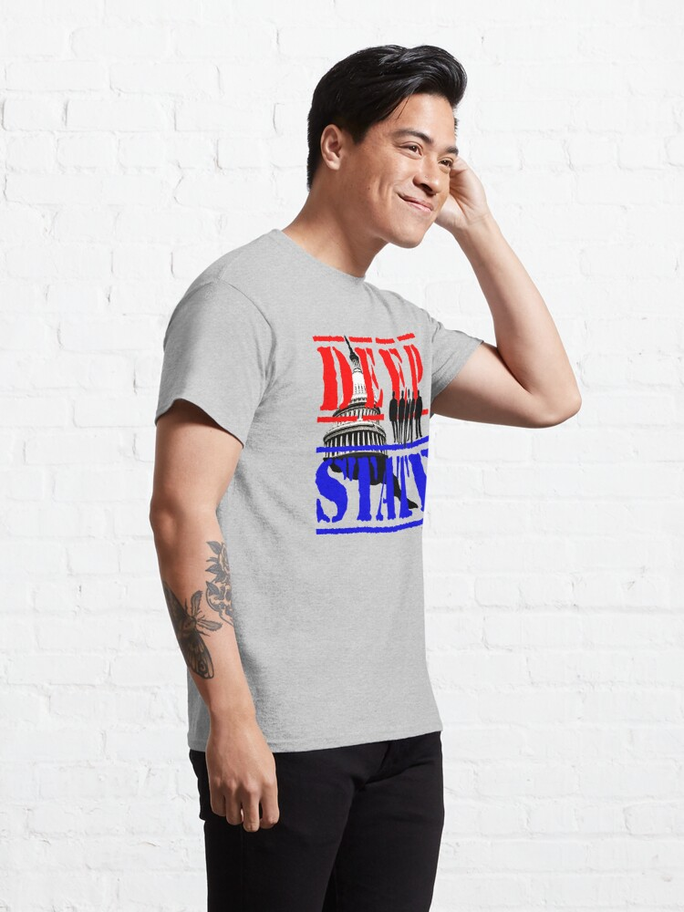 Alternate view of Deep State Classic T-Shirt