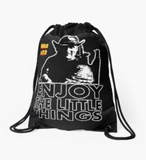 Enjoy the little things Tallahassee Zombie Land Drawstring Bag