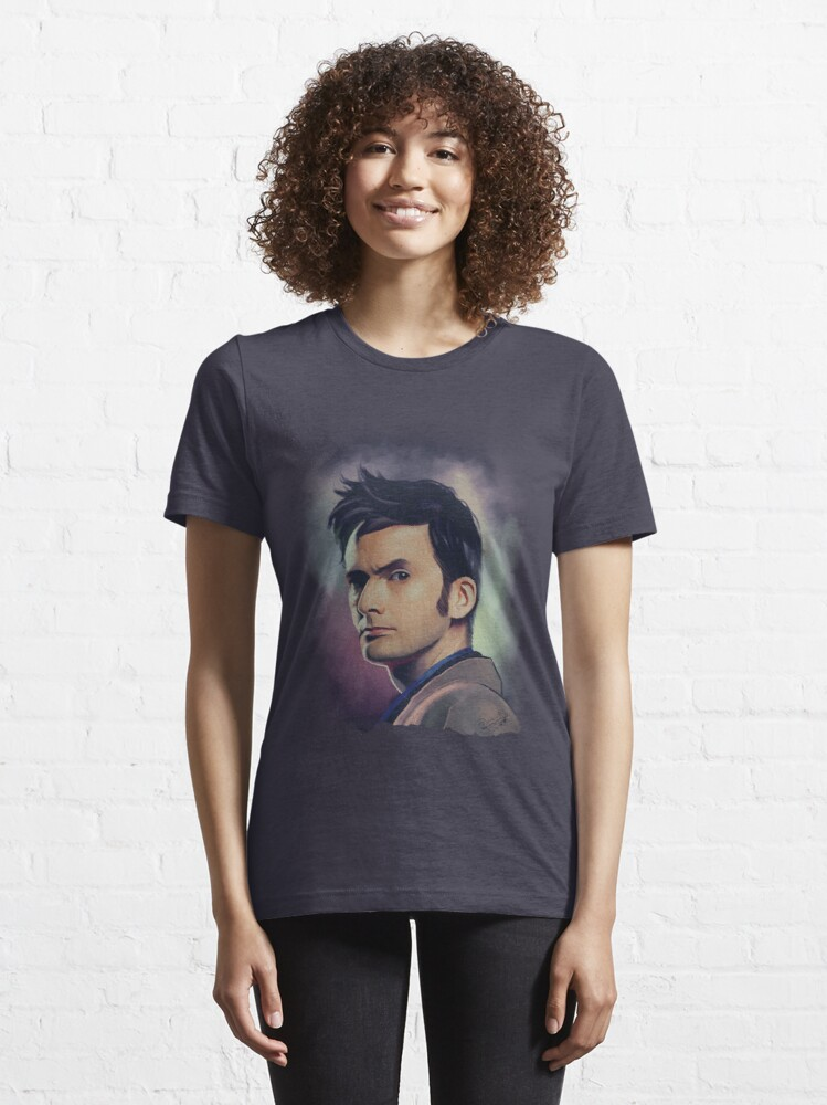 Alternate view of David Tennant Essential T-Shirt