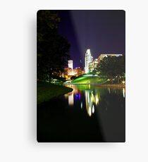 Omaha Skyline Metal Print