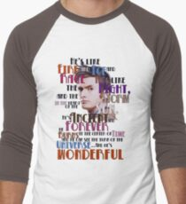 wonderful doctor Men's Baseball ¾ T-Shirt