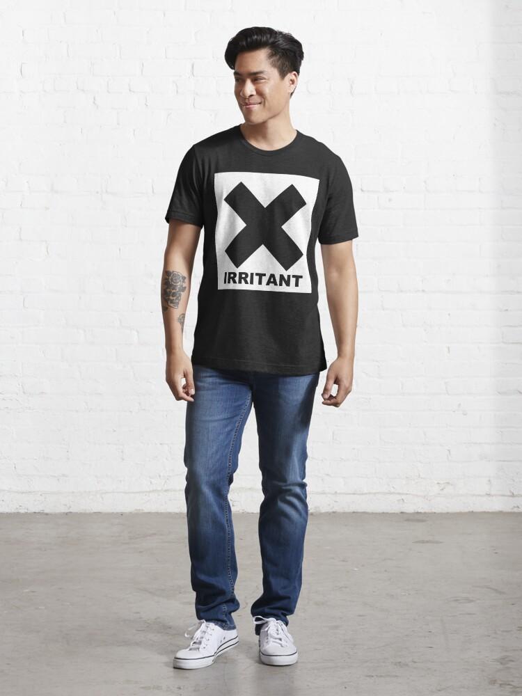 Alternate view of Irritant Symbol Joke Funny Geek Nerd Essential T-Shirt