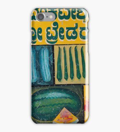 Mysore fruit and veg iPhone Case/Skin