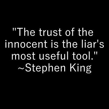 Trust of the Innocent ~Stephen King by Madison15711