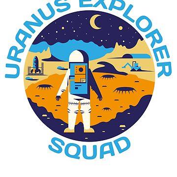 Uranus Explorer Squad  by banwa