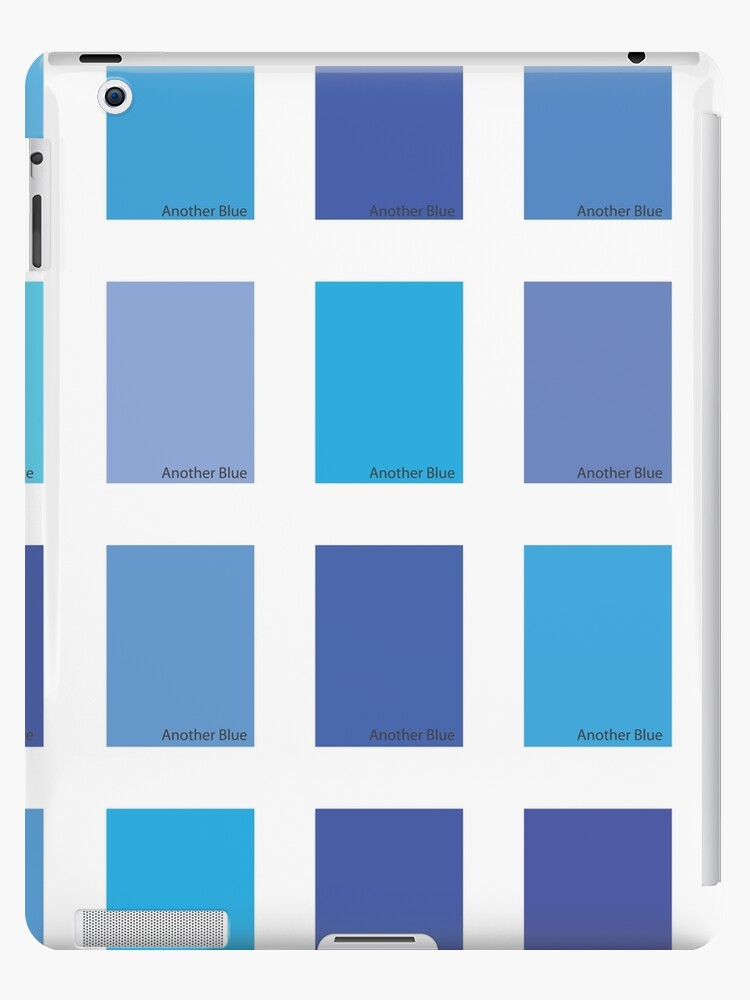 Another Blue Color Picker Ipad Cases Skins By Eldram Redbubble