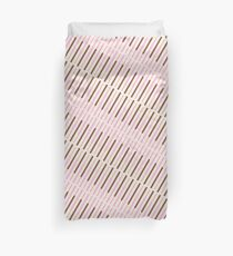 Japanese Chocolate Biscuit Sticks Duvet Cover