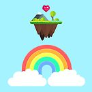 «En algún lugar sobre el arco iris» de EuGeniaArt