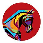 Horse in WPAP by prayitno