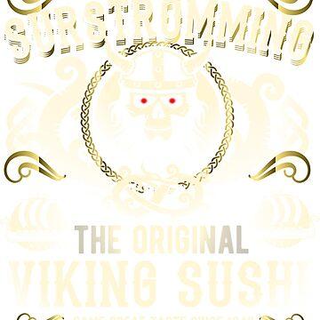 Funny Surströmming T-Shirt Design by Spassprediger