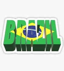 Brazil for World Cup 2018 Russia Sticker