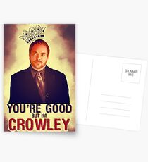 I'm Crowley! Postcards