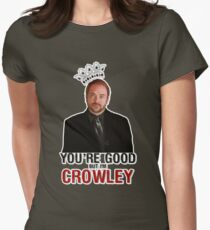 I'm Crowley! Womens Fitted T-Shirt