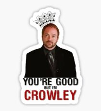I'm Crowley! Sticker