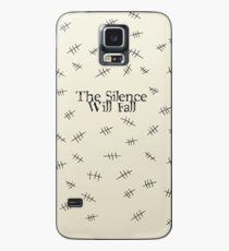 Signs of the silence Case/Skin for Samsung Galaxy