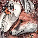 Serenity - Fuchs mit Schädel von Schiraki