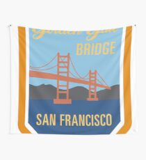 Golden Gate Bridge Patch Wall Tapestry