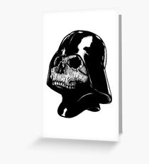 Franchise greeting cards redbubble vader skull greeting card m4hsunfo
