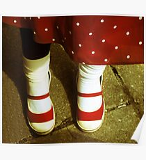 Minnie Mouse Feet Poster