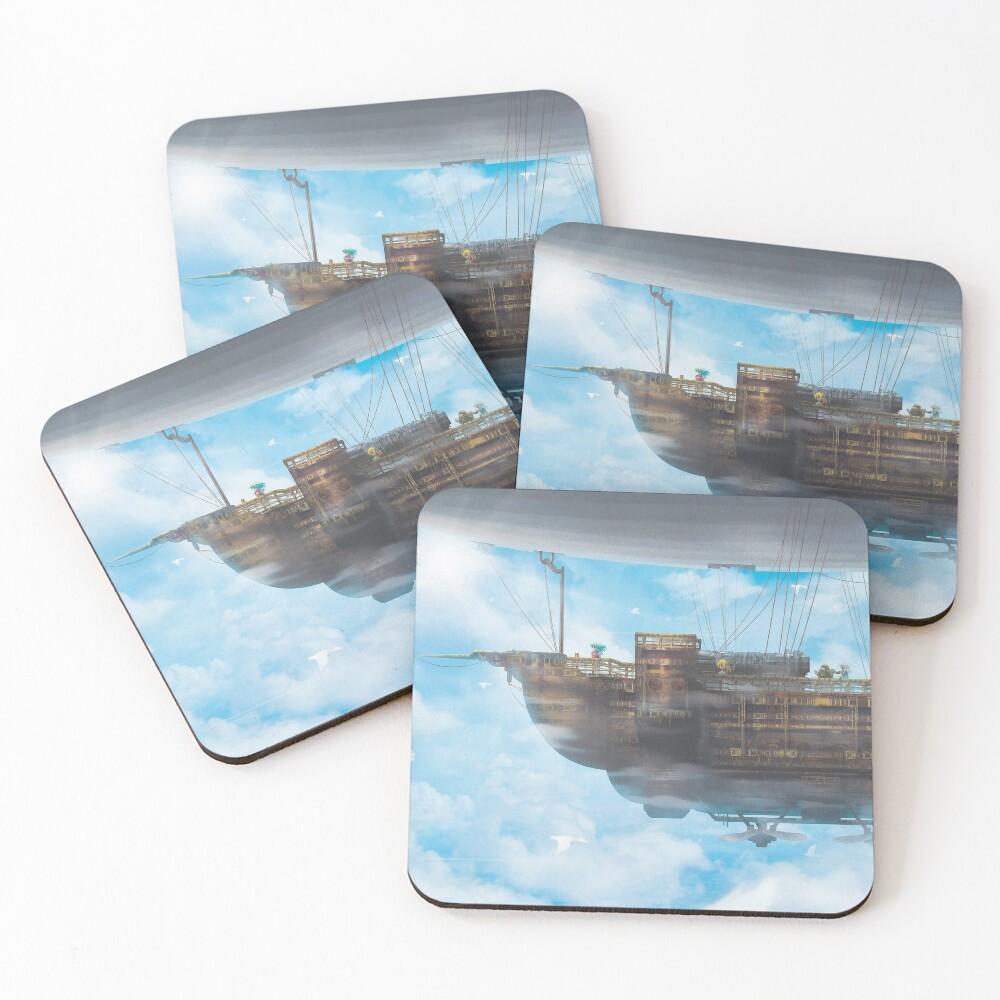 BlackJack (40 Prints left!) Coasters (Set of 4)