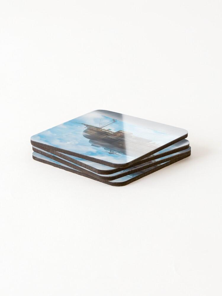 Alternate view of BlackJack (40 Prints left!) Coasters (Set of 4)