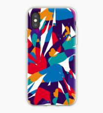 Purple Abstraction iPhone Case