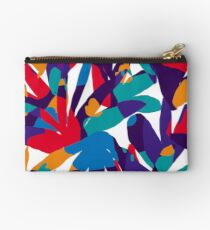 Purple Abstraction Studio Pouch