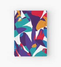 Purple Abstraction Hardcover Journal