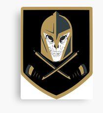 LV Golden Knights Never Die Canvas Print