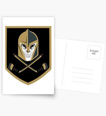 LV Golden Knights Never Die Postcards