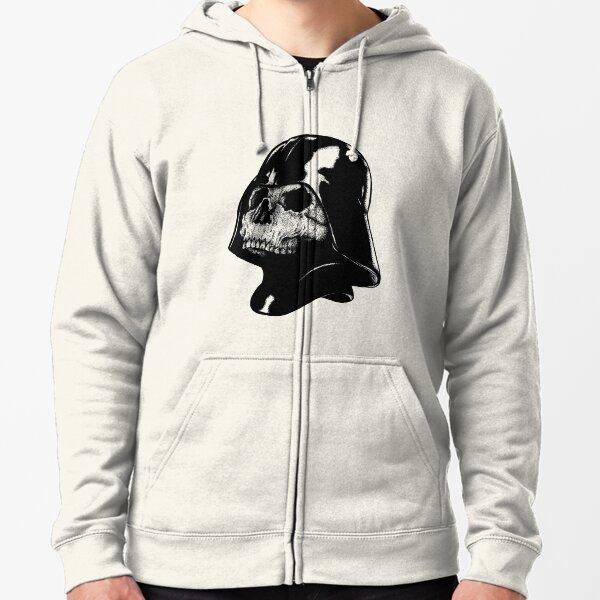 Vader Skull Zipped Hoodie
