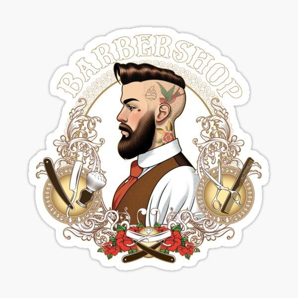 Barber Shop_04 Sticker