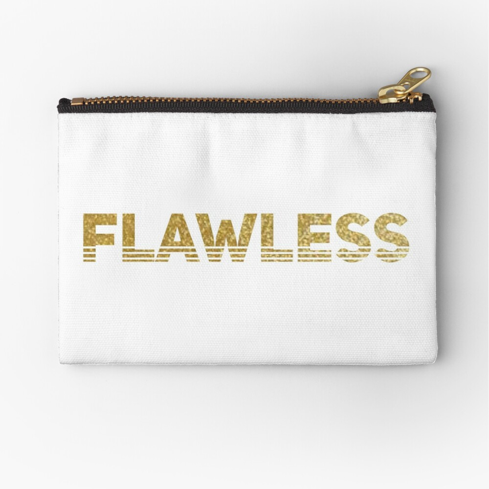 Flawless Zipper Pouch