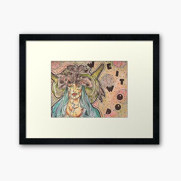 Vivienne Westwood Model Framed Art Print