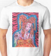 Goth Girl With Big Hair Unisex T-Shirt
