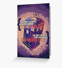 Idris - Doctor Who Greeting Card