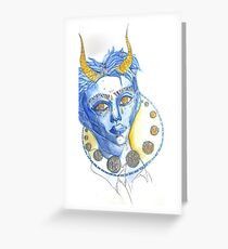Mysticism Greeting Card