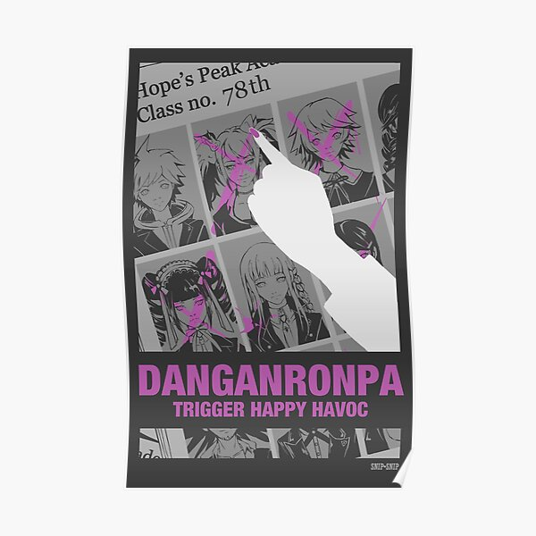 Danganronpa Trigger Heureux Havoc Poster