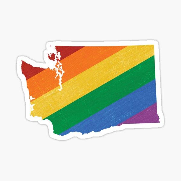 Washington Pride Sticker