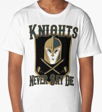 LV Golden Knights Never Die 2 Long T-Shirt