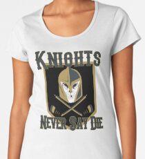 LV Golden Knights Never Die 2 Women's Premium T-Shirt
