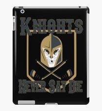 LV Golden Knights Never Die 2 iPad Case/Skin