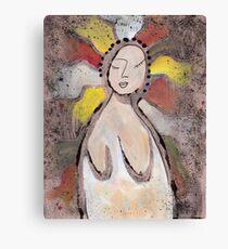 Primitive Nude 1 Canvas Print