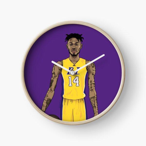 """""""B.I."""" (purple) Clock"""