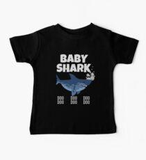 Camiseta para bebés Camiseta Baby Shark