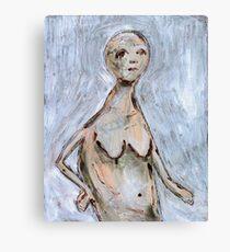 Primitive Nude 2 Canvas Print