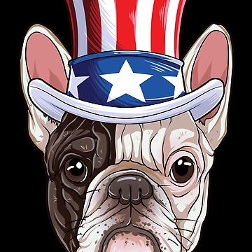 French Bulldog Uncle Sam T shirt 4th of July Dog American Flag by LiqueGifts