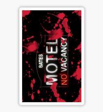 Bloody Bates Motel - Phone Case Sticker